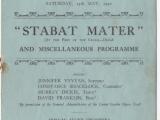 School Concert 13 May 1950 1