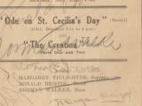 School Concert 25 May 1946 1