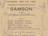 School Concert 5 May 1945 1