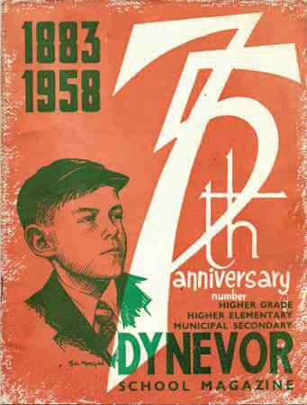 1958 75th Anniversary Magazine